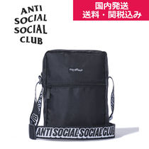 【Anti Social Social Club】Black Side Bag (国内発送☆送関込)