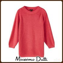 MassimoDutti♪CAPE-STYLE PURL KNIT SWEATER
