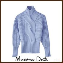 MassimoDutti♪LIMITED EDITION CABLE-KNIT FRONT SWEATER