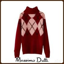 MassimoDutti♪LIMITED EDITION INTARSIA WOOL SWEATER