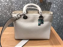 Large Lady Dior お仕事Bag in Latte
