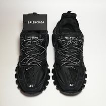 TRACK TRAINERS IN BLACK