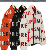 Supreme  Reversible Logo Fleece Jacket  AW 18  WEEK 6
