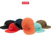 【WEEK6】AW18 Supreme NAPPED CANVAS CLASSIC LOGO 6 PANEL