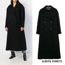 ALBERTA FERRETTI(アルベルタフェレッティ) コート [Alberta Ferretti] long double-breasted coat V06035131 0555