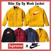 Supreme シュプリーム Nike Zip Up Work Jacket  AW 18  WEEK 6