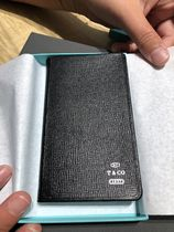 Tiffany & Co★2019年用★leather pocket diary★ブラック
