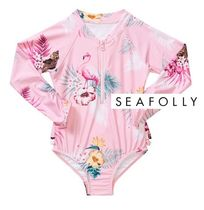 Seafolly(シーフォリー) 子供用水着・ビーチグッズ KIDS水着☆セレブ愛用Seafolly 92cm~ INTO THE WILD LONG SLEEVE
