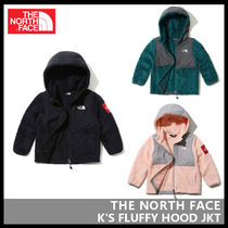 【THE NORTH FACE】K'S FLUFFY HOOD JKT 3色 NJ4FJ51
