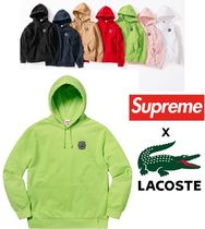 Supreme LACOSTE Hooded Sweatshirt  SS 18 Week 9