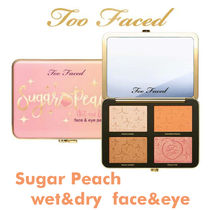 Too Faced☆Sugar Peach☆Wet and Dry Face&Eye パレット
