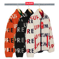 【WEEK6】AW18 Supreme REVERSIBLE LOGO FLEECE JACKET/S