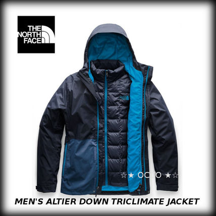 USA発送 ★ザノースフェイス★  ALTIER DOWN TRICLIMATE JACKET