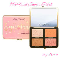 Too Faced♪Sugar Peach Wet and Dry フェイス&アイパレット