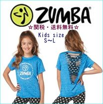 ZUMBA(ズンバ) キッズ用トップス 送料無料!☆New☆Zumba KIDS Celebrate Love Slashed Top
