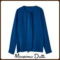 MassimoDutti♪T-SHIRT WITH FRONT BOW
