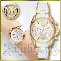 ★在庫有即発★MICHAEL KORS Bradshaw Gold&White Watch MK6578