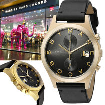 Marc by Marc Jacobs 特別価格!Slim Chronograph Black 腕時計