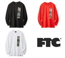FTC(エフティーシー) Tシャツ・カットソー ★FTC GRILL STACK ロンT 送料込★