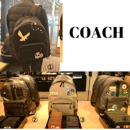 Coach  WEST BACKPACK EAGLE/MILITARY