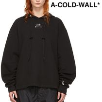 A-COLD-WALL(アコールドウォール) パーカー・フーディ ★A-COLD-WALL★ ブラック ロゴ フーディ ★関税 送料込★