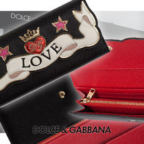 AW18-19 DOLCE & GABBANA 数量限定☆EMBROIDERY PATCHウォレット