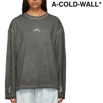 A-COLD-WALL(アコールドウォール) Tシャツ・カットソー ★A-COLD-WALL★ ブラケット ロゴ 長袖Tシャツ ★関税 送料込★