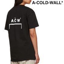 A-COLD-WALL(アコールドウォール) Tシャツ・カットソー ★A-COLD-WALL★ ブラケット ロゴ T シャツ ★関税 送料込★