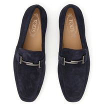TOD'S(トッズ) ドレスシューズ・革靴・ビジネスシューズ TOD'S Suede Double T Moccasins