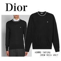 Dior クルーネックニット HOMME TAPING CREW NECK KNIT