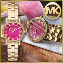 ★在庫有即発★MICHAEL KORS Petite Norie Gold Watch MK3708