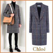 【関送込】NEW◆品薄◆VIP価格◆Chloe◆Single-breasted coat