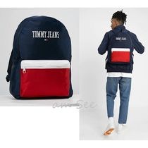 【2018-19AW】欧州限定 TOMMY JEANS ロゴリュックサック