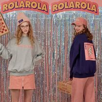rolarola★BACK PIZZA SEATSHIRT