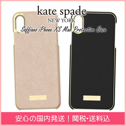kate spade new york スマホケース・テックアクセサリー 【国内発送】Saffiano iPhone XS Max Protective Case セール