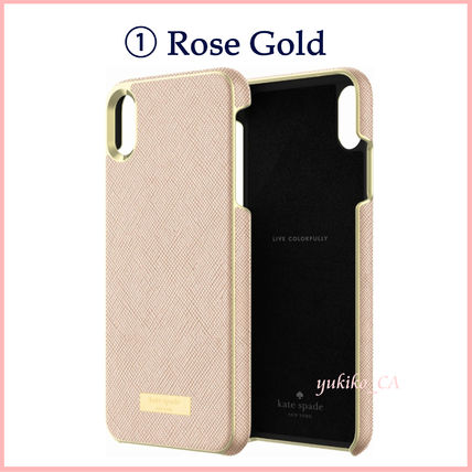 kate spade new york スマホケース・テックアクセサリー 【国内発送】Saffiano iPhone XS Max Protective Case セール(3)