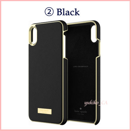kate spade new york スマホケース・テックアクセサリー 【国内発送】Saffiano iPhone XS Max Protective Case セール(5)