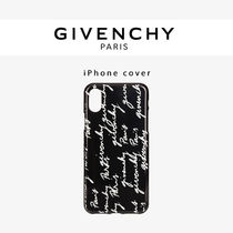 【GIVENCHY】プリント IPHONE カバー(iPhone X , XS)