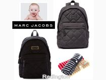 MARC JACOBS(マークジェイコブス) マザーズバッグ Marc Jacobs ナイロンバックパック♪オムツ替えパッドプレゼント