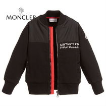18/19aw☆MONCLER Jr ロゴ裏起毛ジップアップ 12/14A【関税込】