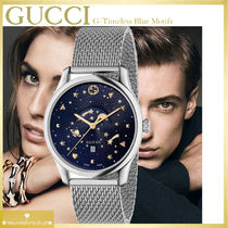 b3805f3ce7a  SALE☆ユニセックス GUCCI G-Timeless Blue Motifs