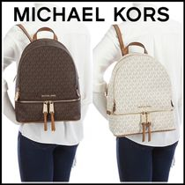 送料込★MICHAEL KORS Rhea Signature Medium バックパック♪