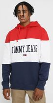 【2018-19AW】欧州限定 TOMMY JEANS トリコロールロゴパーカー