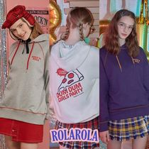 rolarola★BACK PIZZA HOOD T-SHIRTS
