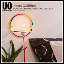 即納★UO★RAINBOW YARN-WRAPPED CIRCLE SCONCE★44492536-000