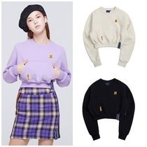 日本未入荷ROMANTIC CROWNのPocket Crop Sweat Shirt 全3色