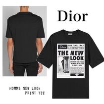 Dior HOMME NEW LOOK PRINT TEE 蜂 刺繍 半袖 Tシャツ