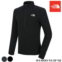 THE NORTH FACE★M'S ROCKY P/S ZIP TEE 2カラー