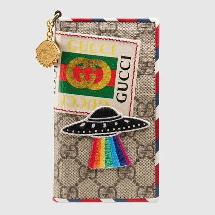 GUCCI スマホケース・テックアクセサリー 追跡有り配送!GUCCI Gucci Courrier iPhone 7 / 8 cover(2)