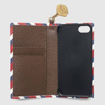 GUCCI スマホケース・テックアクセサリー 追跡有り配送!GUCCI Gucci Courrier iPhone 7 / 8 cover(3)